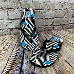 NEW! Tory Burch Flip Flops Thong Sandals Size 9